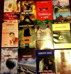 lIbrat e Botuara te poetes  shkrimtares e publicistes korcare, Raimonda MOISIU, me banim ne SHBA!