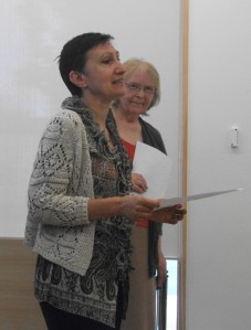 Viv-Longley-and-Silvia-Pio-at-the-Reading-in-Wakefield-775x1024
